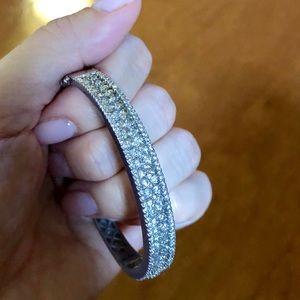 Jewelry - $7500 14K WG 4.5 CT DIAMOND BANGLE BRACELET
